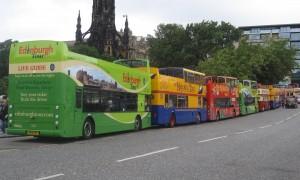 Autobuses turísticos en Escocia