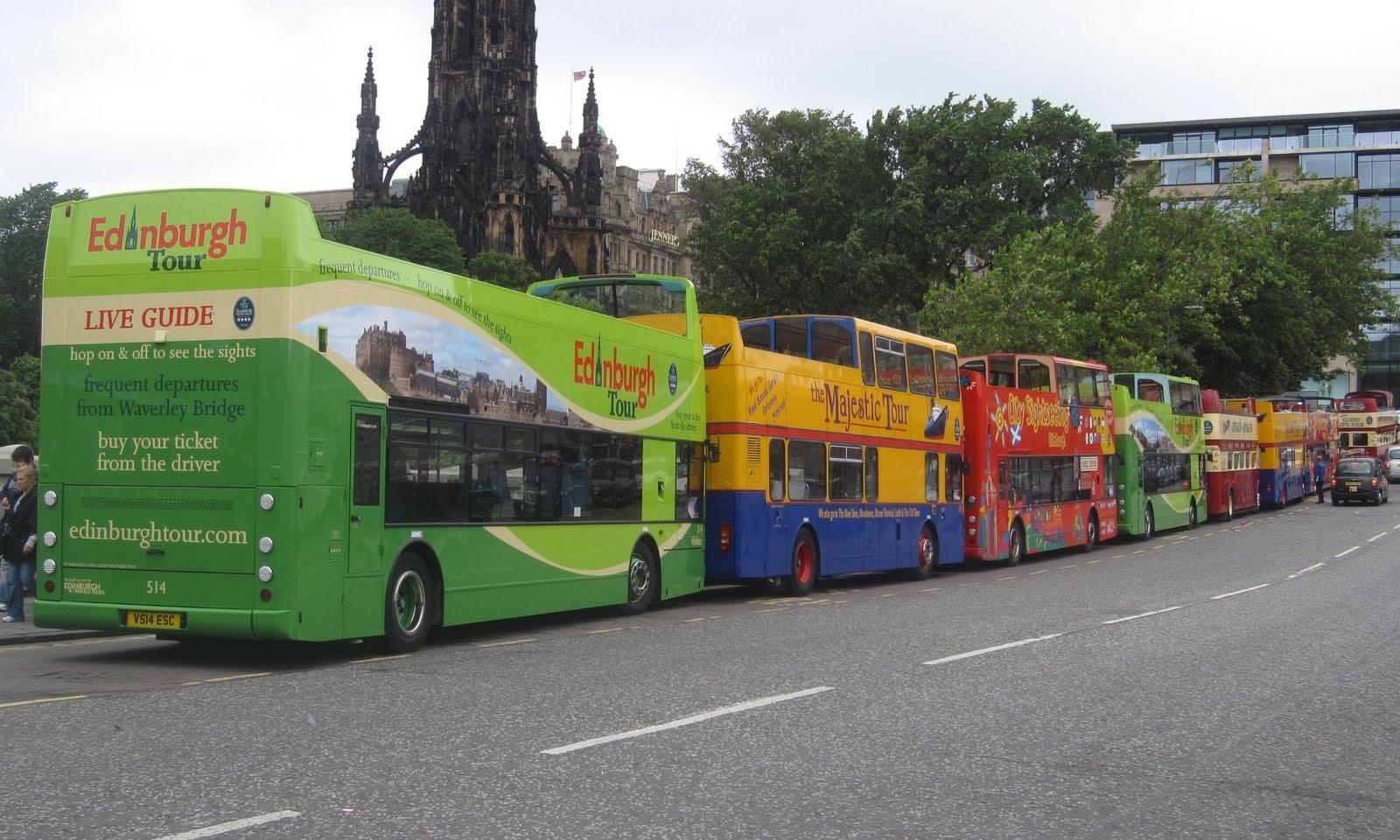 Transportes turísticos en Escocia