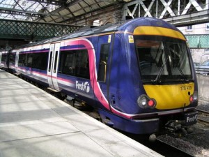 First Scot Rail es la compañía de trenes que opera en Escocia