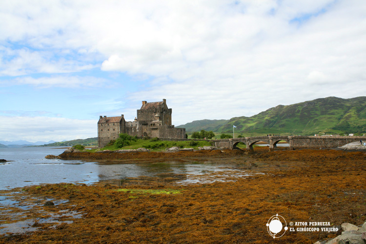 Castillo de Eilean Donan, siempre presente en la ruta por Escocia