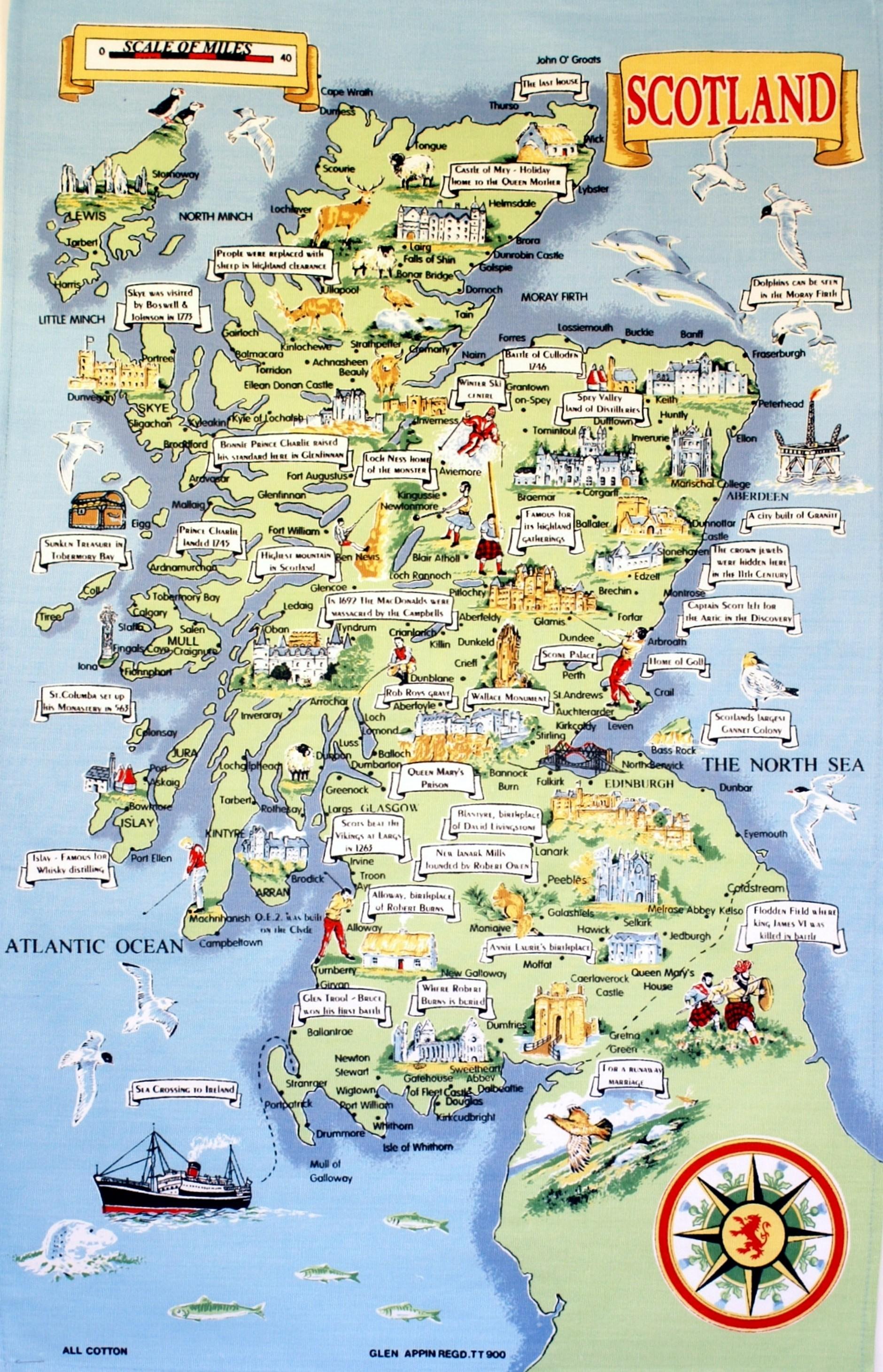 Mapas planos y callejeros de escocia gu a blog escocia for Oficina de turismo de escocia