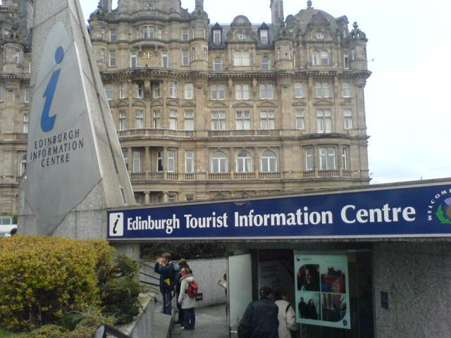 Oficinas de turismo en Edimburgo