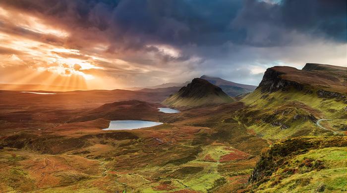 Isla Skye. Tierras Altas de Escocia