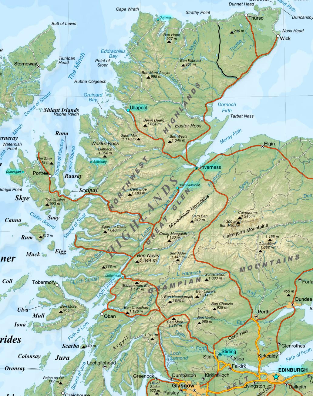 Las highlands las tierras altas gu a blog escocia for Oficina de turismo de escocia