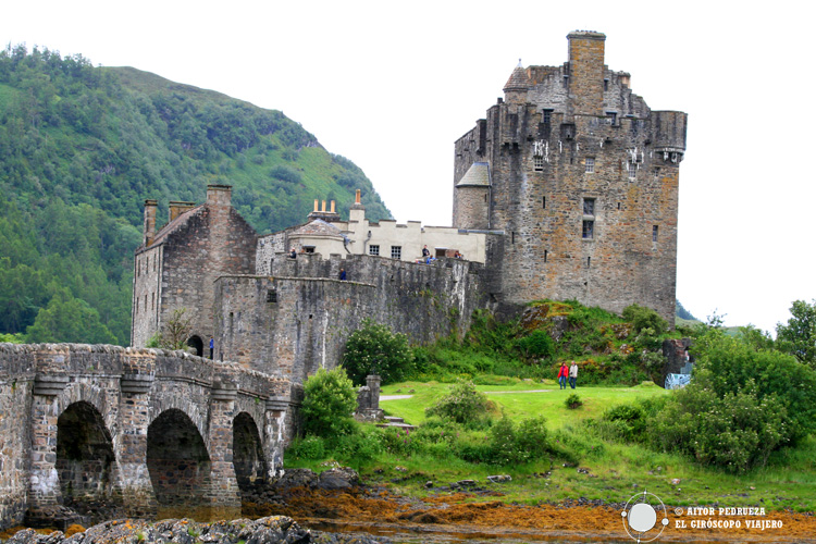 Entrada al castillo de Eilean Donan