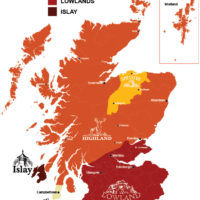 Ruta de las destilerías de Whisky de Escocia