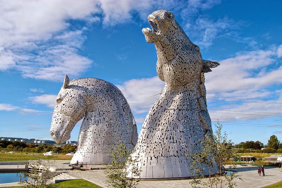The Kelpies, los caballos de Falkirk